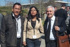 Dra. Merly Carbajal, Dr. Sergio Carmona.