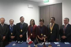 Incorporación como miembro titular de la Sociedad Peruana de Otorrinolaringología 2015