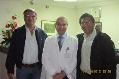 Dr. Gino Boero, Dr. José Antonio Rivas
