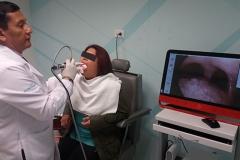 Videoendoscopía laríngea - nasofibroscopía laríngea